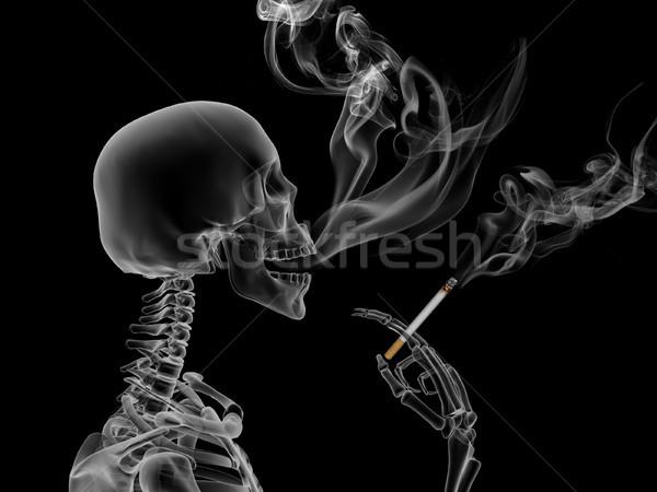 Smoking kills Stock photo © oorka