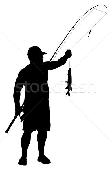 fisherman vector illustration c dimitar matinov oorka 3305910 stockfresh fisherman vector illustration c dimitar