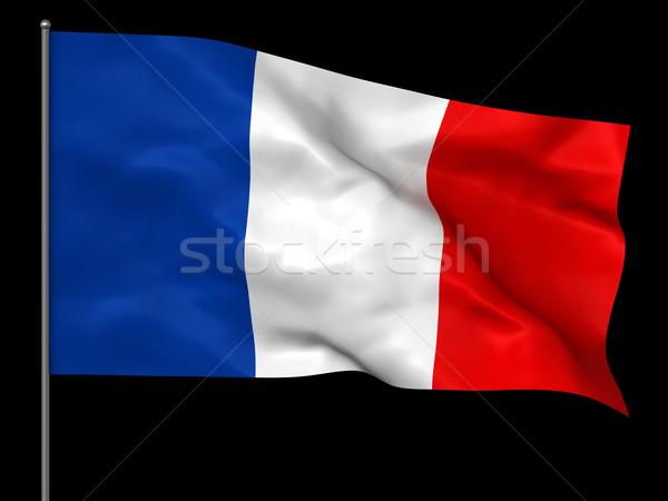 Frenh flag Stock photo © oorka