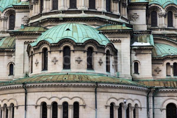 Kerk fragment orthodox christelijke godsdienst religieuze Stockfoto © oorka