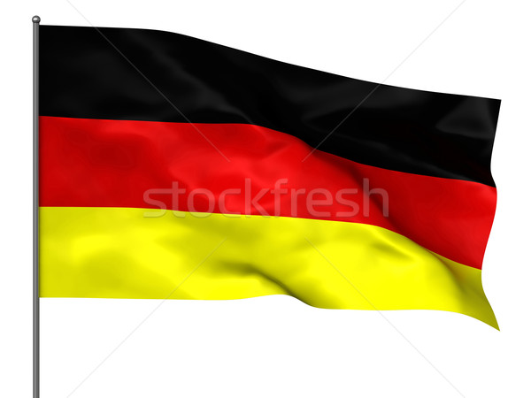 German flag Stock photo © oorka