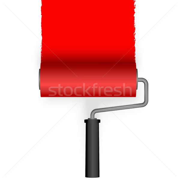 paint roller with marking Stock photo © opicobello
