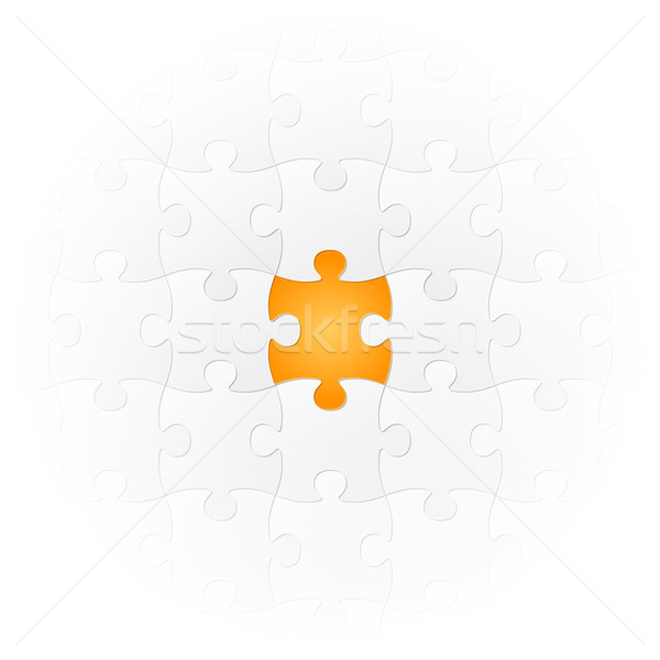 Jigsaw Puzzle - the very special part Stock photo © opicobello