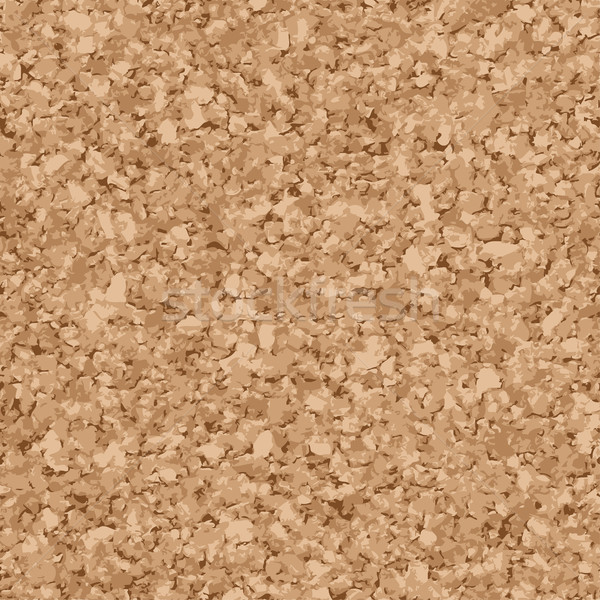 seamless cork background Stock photo © opicobello