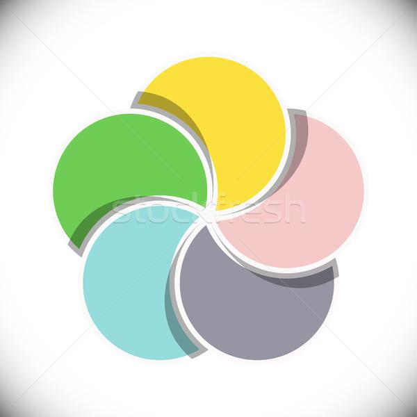 ビジネス テンプレート 異なる オプション ストックフォト © opicobello