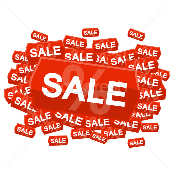 Stock photo: SALE on price tag
