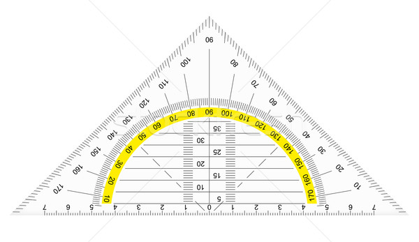 protractor Stock photo © opicobello