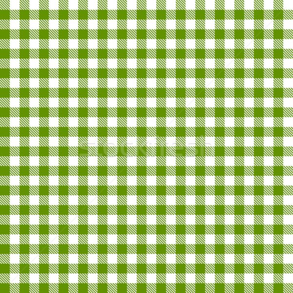 Kockás minta végtelen zöld háttér asztal Stock fotó © opicobello