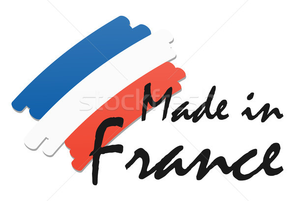seal of quality Made in France Stock photo © opicobello