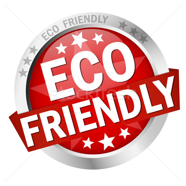 Button Eco friendly Stock photo © opicobello