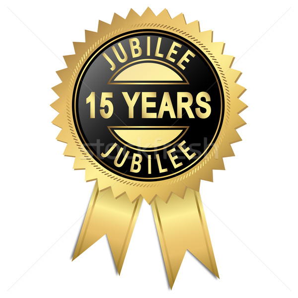 Jubilee - 15 years Stock photo © opicobello