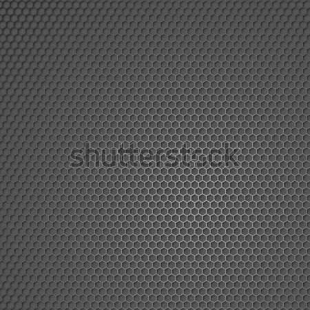 Stockfoto: Metaal · textuur · technologie · achtergrond · zwarte · behang