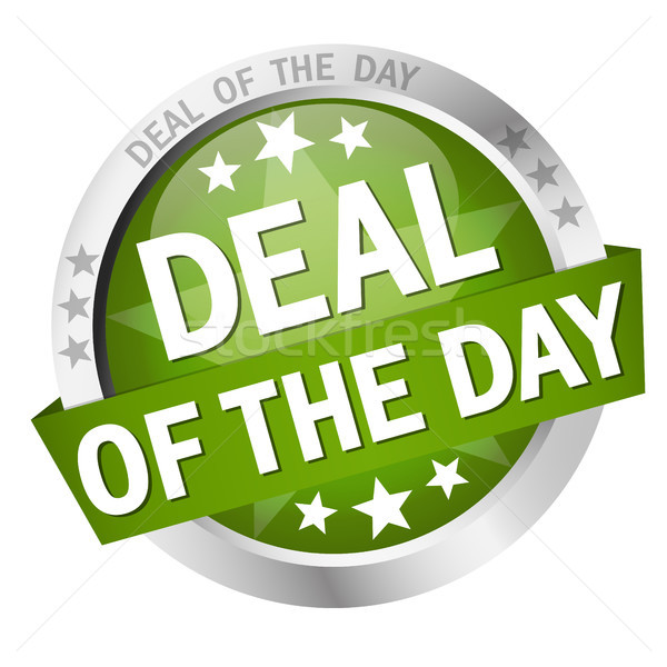 button with text Deal of the day Stock photo © opicobello