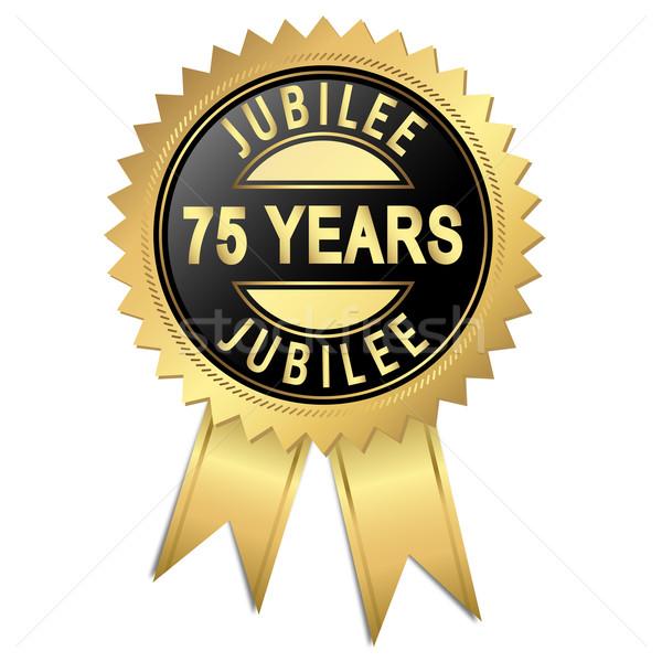 Jubilee - 75 years Stock photo © opicobello