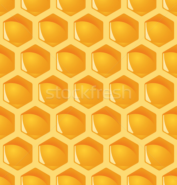 Honeycomb background - endless Stock photo © opicobello