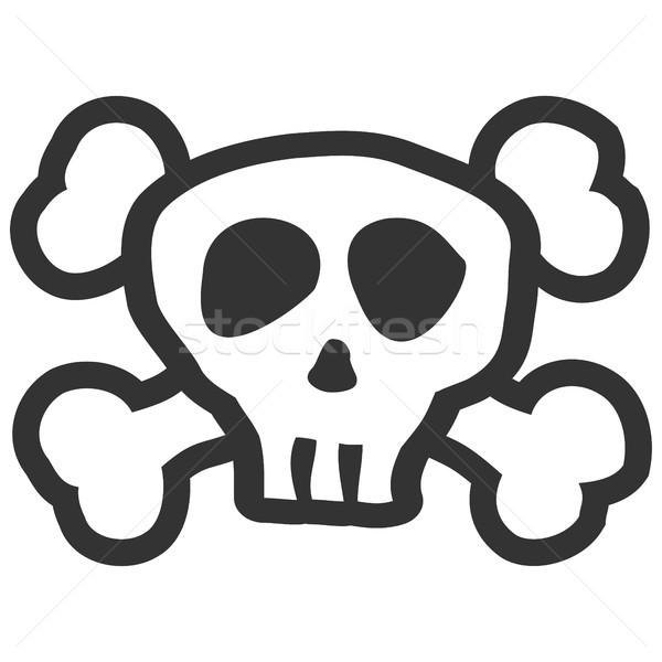 skull and crossbones Stock photo © opicobello