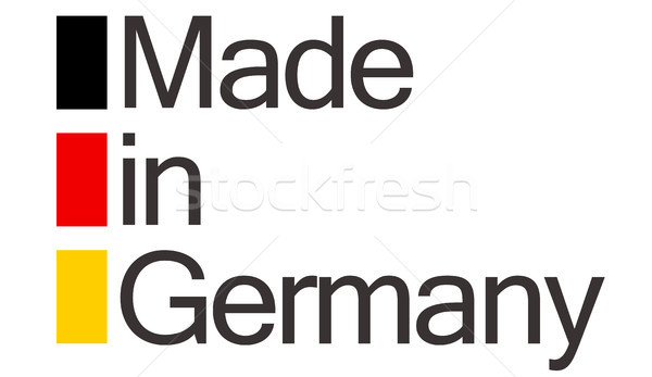 seal of quality made in Germany Stock photo © opicobello