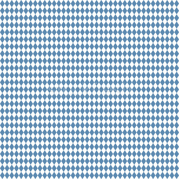 seamless blue white checkered Oktoberfest background Stock photo © opicobello