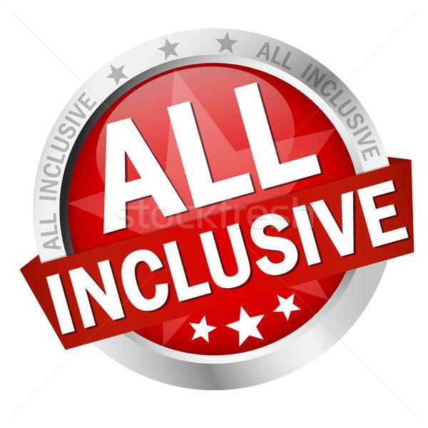 button with text All inclusive Stock photo © opicobello
