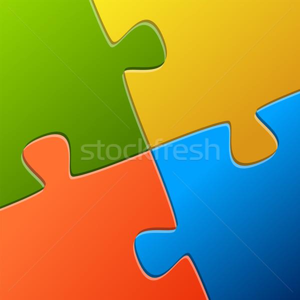 Teamwork Stock photo © opicobello