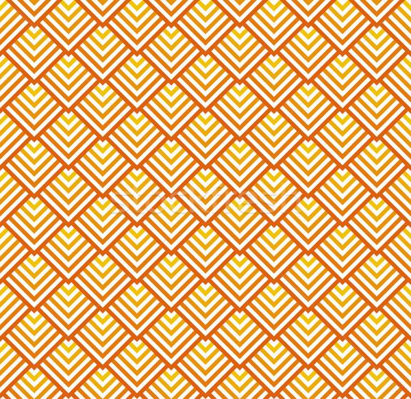 бесшовный аннотация красный оранжевый вектора Сток-фото © opicobello