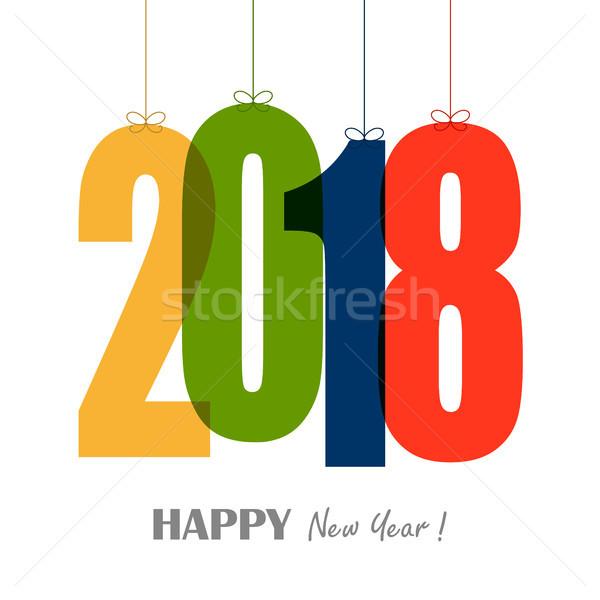 Enforcamento números ano novo Foto stock © opicobello