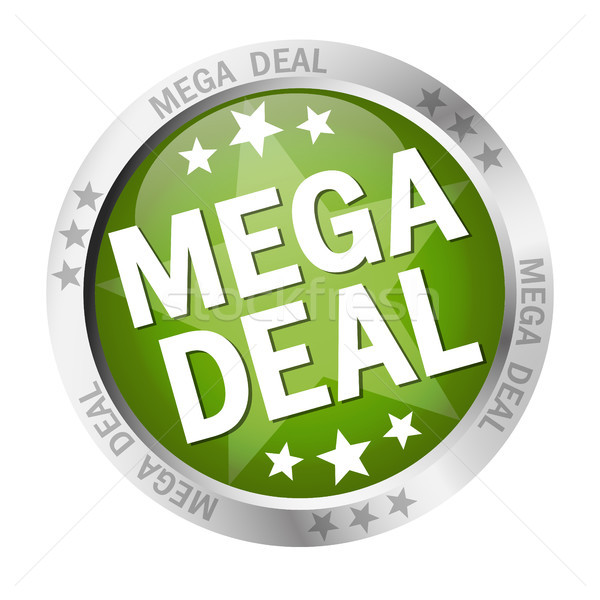 Button Mega Deal Stock photo © opicobello