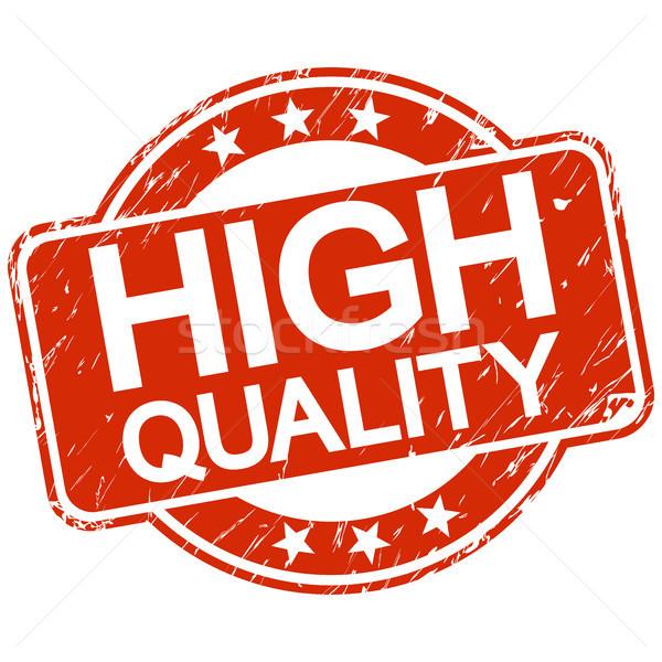 赤 スタンプ 高い 品質 文字 ヴィンテージ ストックフォト © opicobello