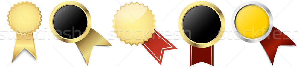 buttons with banner template Stock photo © opicobello