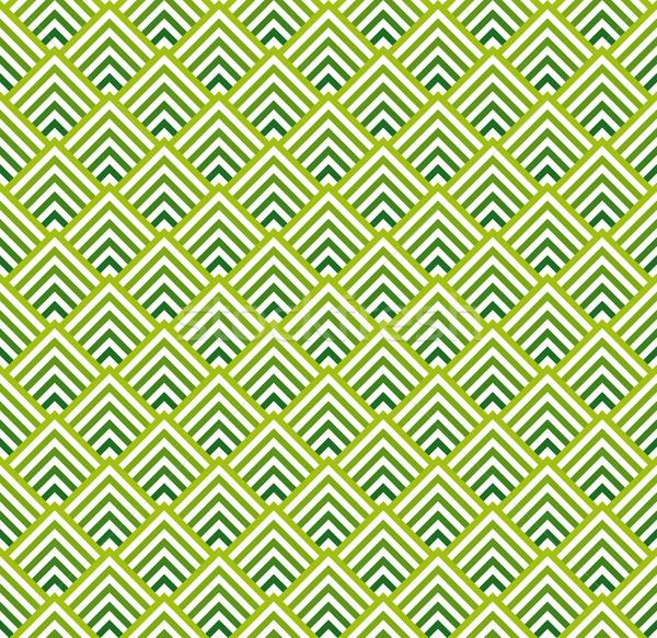 Senza soluzione di continuità colorato abstract verde verde chiaro vettore Foto d'archivio © opicobello