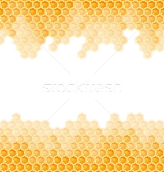 соты бесконечный цветок работу аннотация дизайна Сток-фото © opicobello