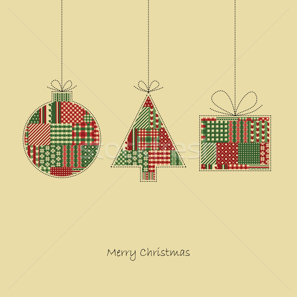 Christmas Card Vector Stock photo © opicobello