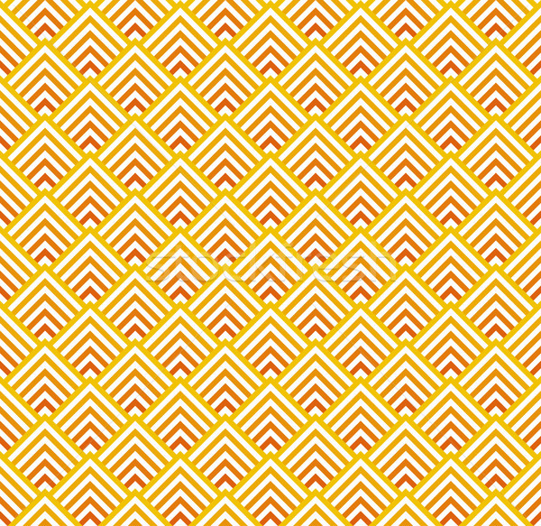 Sem costura abstrato vermelho laranja vetor Foto stock © opicobello