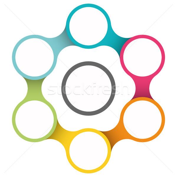 Business modello colorato diverso opzioni Foto d'archivio © opicobello