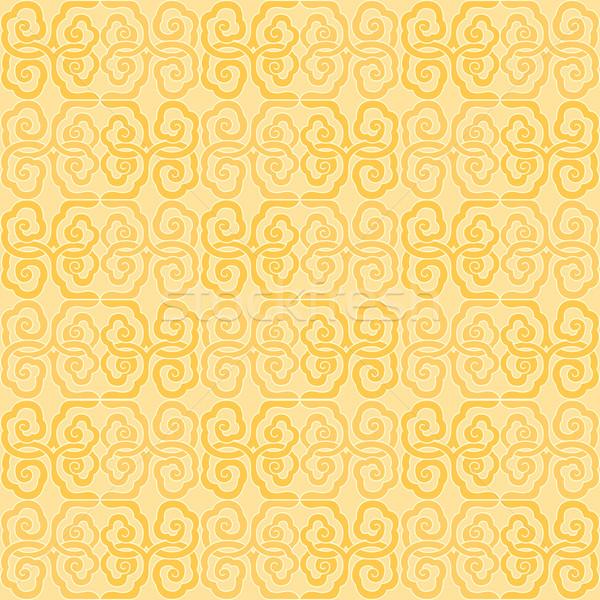 Végtelenített távolkeleti minta csempe globális szín Stock fotó © ori-artiste
