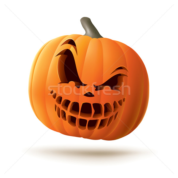 Scary Jack O Lantern Stock photo © ori-artiste