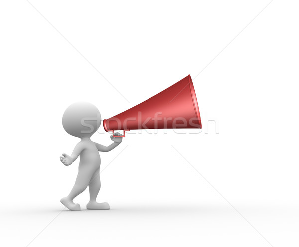 Old megaphone  Stock photo © orla