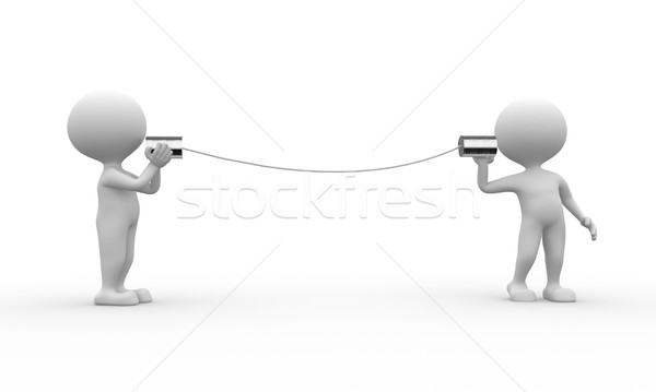 Stock photo: Communication
