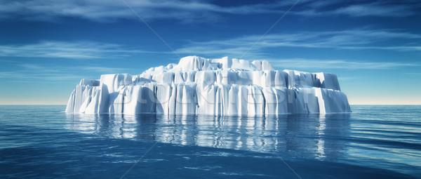 Underwater view of iceberg Stock photo © orla