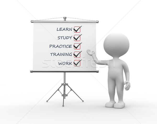 Concept of learn Stock photo © orla