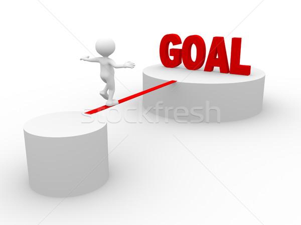 Goal Stock photo © orla