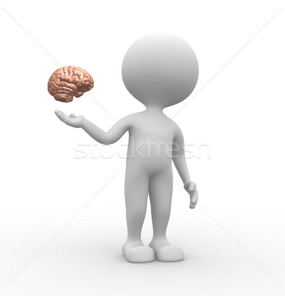 Brain Stock photo © orla