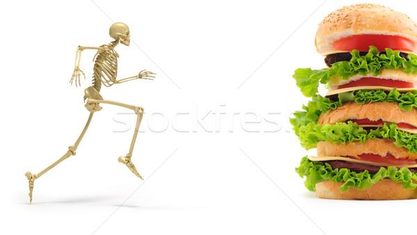 Hungry guy  Stock photo © orla