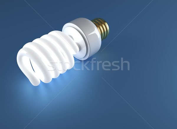 Fluorescent light bulb Stock photo © orla