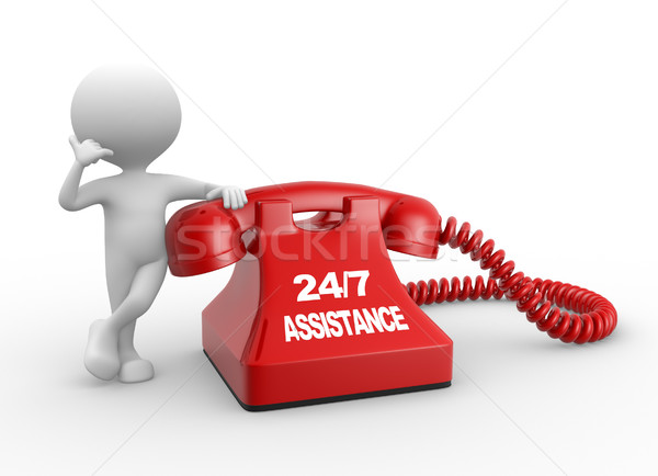 24/7 Assistance Stock photo © orla