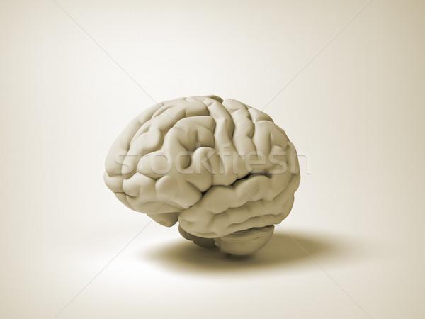 Smart object 3d render illustratie onderwijs Stockfoto © orla
