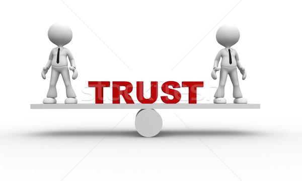 Trust concept Stock photo © orla