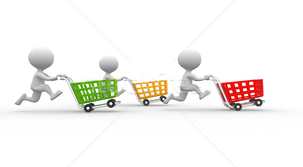 Shopping car Stock photo © orla