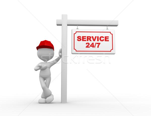 Service 24/7 Stock photo © orla