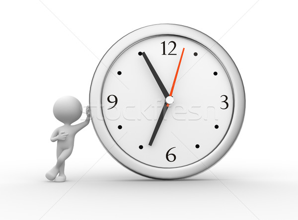 Big clock Stock photo © orla